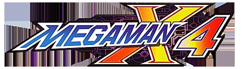 File:Mega Man X4 logo.png