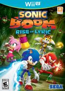 Sonic Boom - Rise of Lyric US Box art