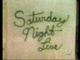 Saturday Night Live Video Open From October 7, 1978