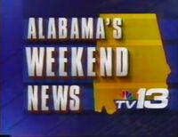 WVTM-TV TV-13 Alabama's Weekend News promo 1991