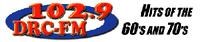 102.9 DRC FM logo