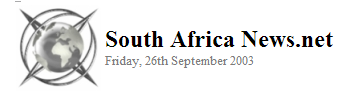 South Africa News.Net 2003
