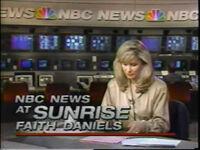 NBC News at Sunrise 1989