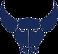 Oxford United FC logo (blue ox head only)