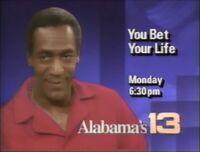 WVTM-TV Alabama's 13 You Bet Your Life promo 1992
