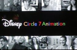 Disney circle 7 animation