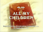 ''All My Children'' Video Close From 2003