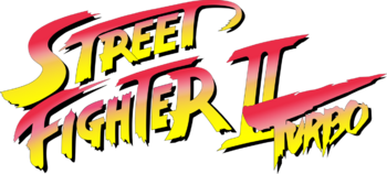 Street Fighter II Turbo logo SNES version