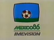 México 86 - Imevisión