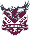 Manly-Warringah Sea Eagles logo (60 Years)