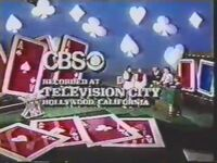 CBS Television City 1986-Card Sharks