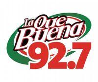 LA Que Buena 92 7 New Logo