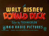 Canvas Back Duck RKO Logo