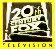 20th Cemtury Fox Television 1986 print logo