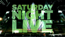 Saturday Night Live Video Open From September 26, 2009
