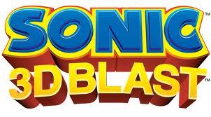 Sonic the hedgehg 3d blast logo