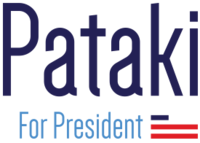Pataki for President Campaign Logo