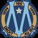 Olympique de Marseille logo (100th anniversary)