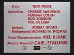 Rabbit's Kin (1952) Credits screen