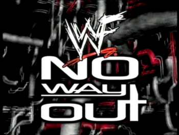 1557 - logo no way out wwf