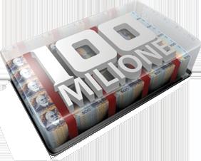 100 Milione Logo
