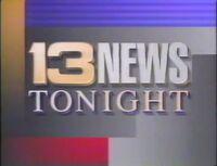 Alabama's 13 News Tonight Promo 1991