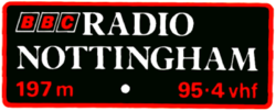 BBC R Nottingham 1975
