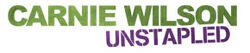 Carnie Wilson - Unstapled (logo)