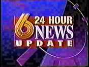WBRC-TV's Channel 6 News Update video promo from 1993-1994