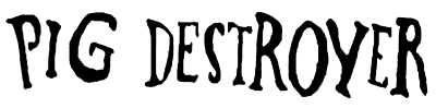 Pigdestroyer logo