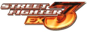 Street Fighter EX3 Logo 1 a