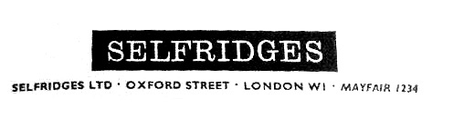 Selfridges 1966