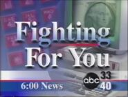 Alabama's ABC 33-40 Fighting for You Promo in 1997