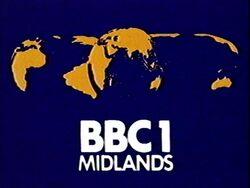 BBC 1 1974 Midlands
