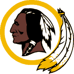 Washington Redskins 1000 reverse