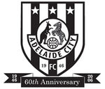 Adelaide City FC logo (60th anniversary)