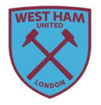 New West Ham United FC logo (blue and claret v1)