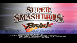SSBB Title Screen 16x9