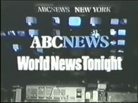 ABC News' World News Tonight Video Open From 1981