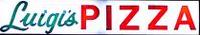 Luigi's Pizza Logo Script and Red Sans Serif
