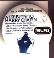 WPLJ-FM's 95.5's The Dr. Pepper 1982 Music Festival, A Tribute To Harry Chapin Promo For 1982