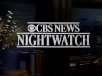 CBS Nightwatch 1991
