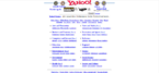 Yahoo Website 1998
