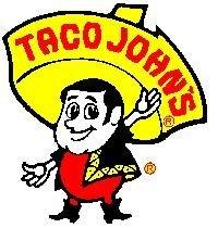 Taco john mascot logo