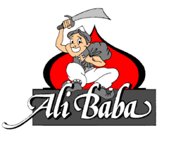 Ali Baba 4th logo 11 February 1991-28 September 1997 storefront
