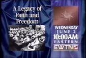 EWTN promo bumper (1992)