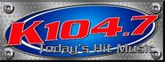 WSPK-FM's K104 Logo From The Late 2000's
