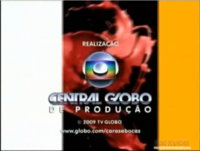 Caras & Bocas seal short Globo 2008 logo 2009