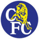 Chelsea FC logo (yellow lion, blue disc)