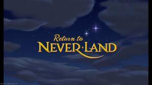 Return to Never Land Logo